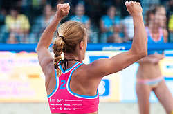 Jelena Pesic at Beach Volleyball Challenge Ljubljana 2014, on August 2, 2014 in Kongresni trg, Ljubljana, Slovenia. Photo by Matic Klansek Velej / Sportida.com