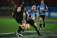 Tony Woodcock in action. Investec Super Rugby - Chiefs v Blues, Waikato Stadium, Hamilton, New Zealand. Saturday 26 March 2011. Photo: Andrew Cornaga / photosport.co.nz