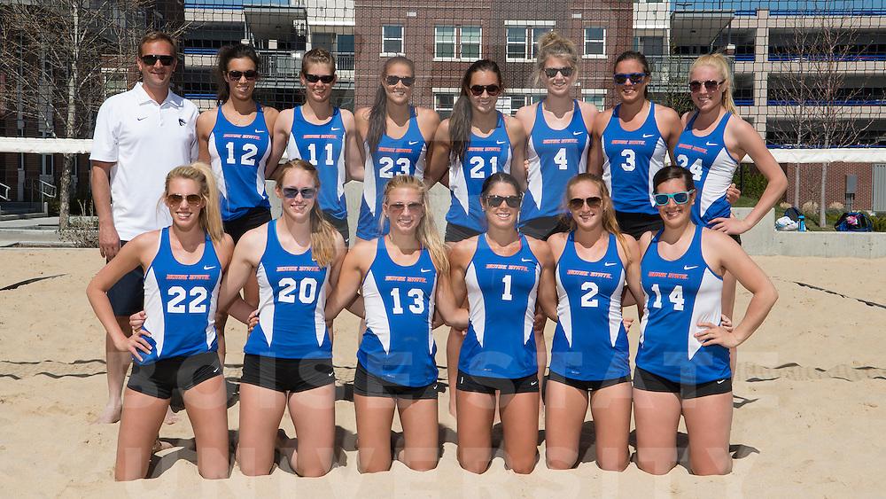 Sand Volleyball team, portraits