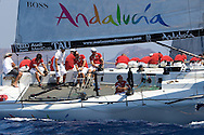 Tau Ceramica-Andalucia during the practice race of the AUDI Medcup in Cartagena