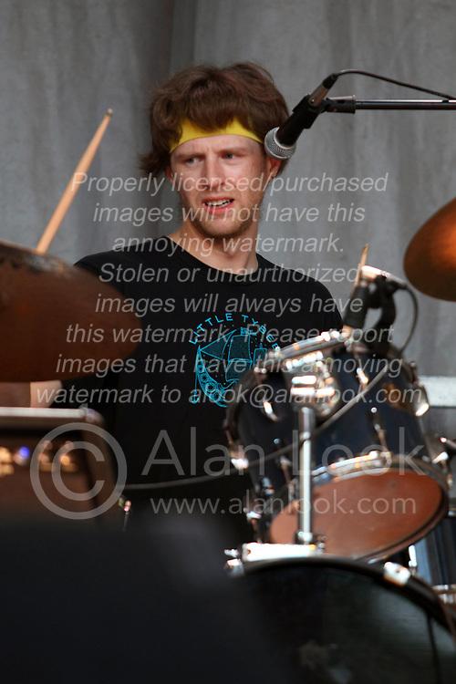 Make Music Normal festival - Uptown Normal<br /> <br /> Wildermore:<br /> Dave Gueldenhaar: guitar, vocals; Matthew Gueldenhaar: keys, vocals; Zak Hoffman: drums, vocals; Aaron Wissmiller: bass, vocals