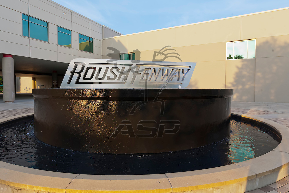 CONCORD, NC - JUN 03, 2012:  The Roush Fenway Racing team receive their Daytona 500 Champions rings at the Roush Fenway Racing World Headquarters in Concord, NC.