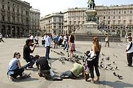 01 September 2005: On the streets of Milan, Italy. ©2005 Brett Wilhelm/Brett Wilhelm Photography | www.brettwilhelm.com