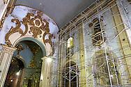 Fotos das obras de Restauro da Igreja da Ordem Terceira de São Francisco, realizadas no mês de novembro de 2013. São Paulo, 13 de novembro de 2013. Foto Daniel Guimarães