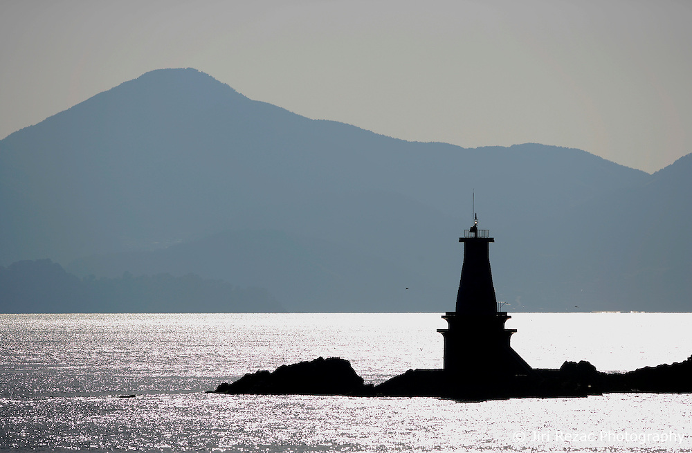 SOUTH KOREA MASAN 30OCT07 - Lighthouse  outside Masan port, South Korea...jre/Photo by Jiri Rezac..© Jiri Rezac 2007..Contact: +44 (0) 7050 110 417.Mobile:  +44 (0) 7801 337 683.Office:  +44 (0) 20 8968 9635..Email:   jiri@jirirezac.com.Web:    www.jirirezac.com..© All images Jiri Rezac 2007 - All rights reserved.