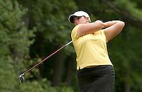 Nikki Hadd during LPGA Futures Tour Saturday, July 23rd.  (Karen Bobotas/for the Concord Monitor)