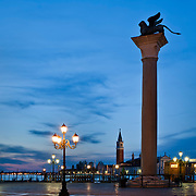 Piazzeta S. Marco & Lion at dawn