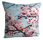 Cherry blossom cushion 50x50cm