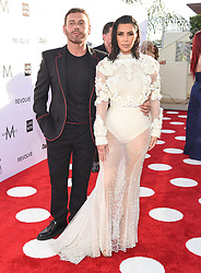 Guests arrive at the 3rd Annual Fashion LA Awards in Hollywood, California. 02 Apr 2017 Pictured: Mert Alas, Kim Kardashian. Photo credit: MEGA TheMegaAgency.com +1 888 505 6342