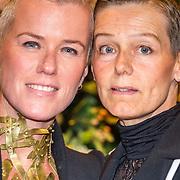 NLD/Amsterdam/20161013 - Televiziergala 2016, Ellie Lust en partner