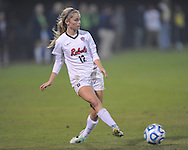 Ole Miss' MacKenze Parma (12) vs. Jackson State in NCAA Soccer Tournament in Oxford, Miss. on Friday, November 15, 2013. Ole Miss won 9-0.