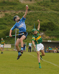 Early Riser Westport's Eoghan Kettrick makes a great catch against Cappmore Limerick during the Feile matches in Westport on saturday last.<br />