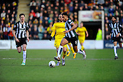 Plymouth Argyle's Curtis Nelson during the Sky Bet League 2 match between Plymouth Argyle and Oxford United at Home Park, Plymouth, England on 5 March 2016. Photo by Graham Hunt.