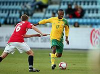 Fotball , 10. oktober 2009 , Privatkamp , Norge - Sør-Afrika<br /> Norway - South-Africa 1-0<br /> <br /> Bernard Parker , Sør-Afrika