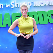 Hannah Waddingham attend the Shaun the Sheep Movie: Farmageddon, at ODEON LUXE on 22 September 2019,  London, UK.