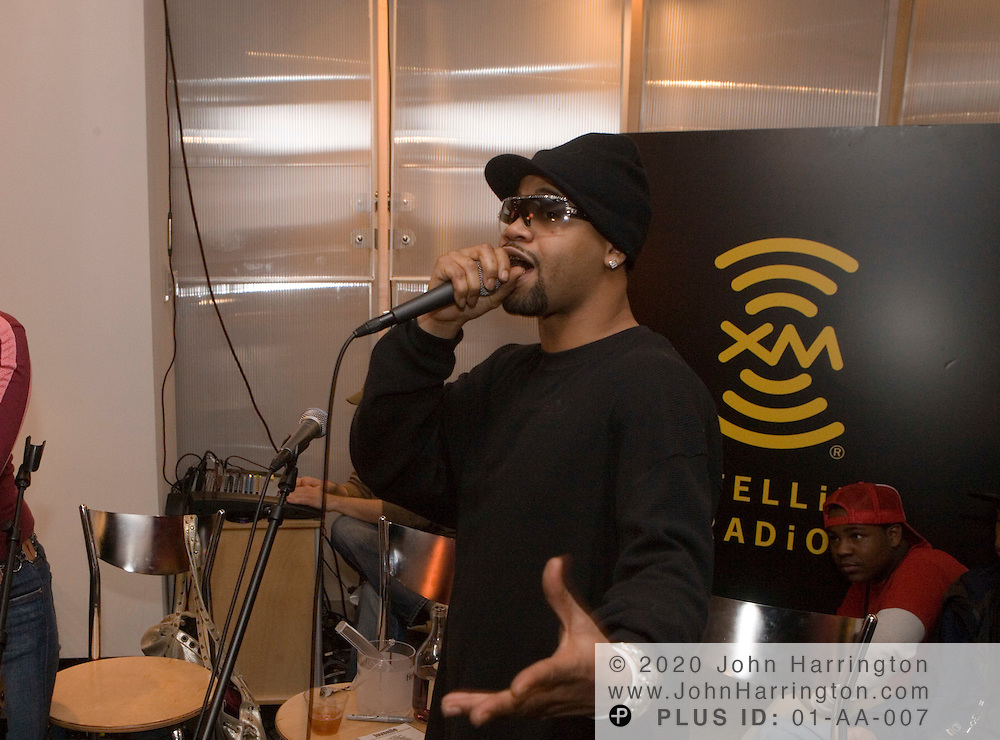 "Rap recording artist Juvenile during a listening party for his album ""Reality Check"", January 24, 2006 at XM Satellite Radio studios in Washington DC. Reality Check, which was released March 7, soared to Number 1 on Billboard's Top 200 Chart, announced Wednesday, March 15, 2006."