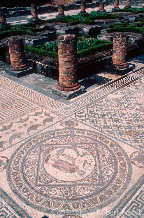 PORTUGAL, ROMAN PERIOD Conimbriga; 'House of Fountains'