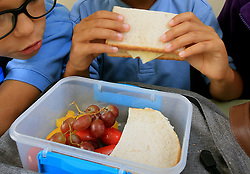 File photo dated 05/09/17 of children eating. The National School Breakfast Programme was introduced in March and since then 500 schools have signed up, with more than 150 already up and running, new figures show.