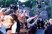 Crowd at the Quart festival, Kristiansands Norway 2000