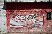 Coca Cola sign, Concordia, Sinaloa, Mexico