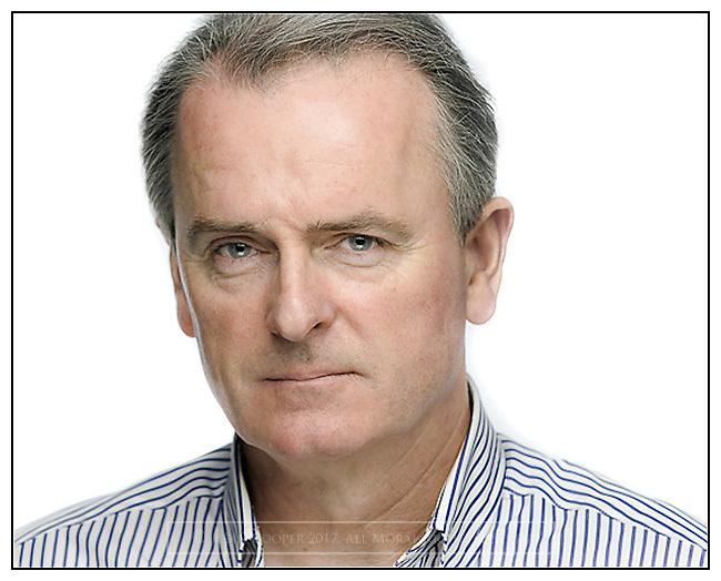 Portrait of Landscape Photographer, Colin Prior.