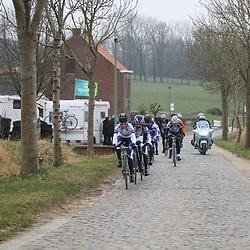 Sportfoto archief 2013<br /> Omloop Het Nieuwsblad women Paddestraat with Emma Johansson