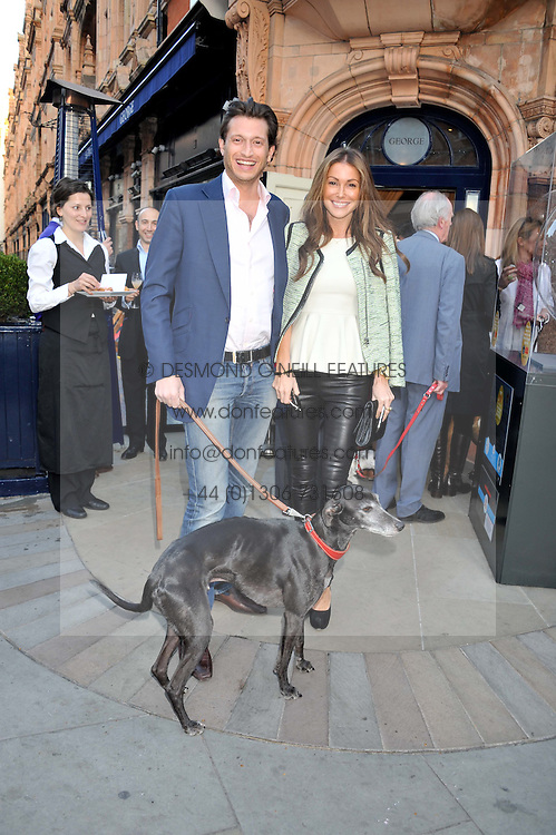 JAYNE BLIGHT and DAN FERRIS at The Dog's Trust Awards announcement held at George, 87-88 Mount Street, London on 27th March 2012.