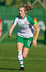 MARBELLA, SPAIN - Thursday, February 28, 2019: Republic of Ireland's Megan Connolly during an international friendly match between Wales and Republic of Ireland at the Marbella Football Centre. (Pic by David Rawcliffe/Propaganda)