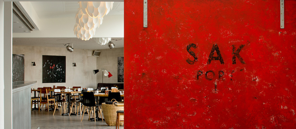 Restaurent og Cafe SAK på Samsø til DeFarver