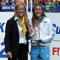 DEN HAAG - Rabobank Hockey World Cup<br /> 38 Final: Netherlands - Australia<br /> Netherlands world champion.<br /> Foto: Florencia Habif.<br /> COPYRIGHT FRANK UIJLENBROEK FFU PRESS AGENCY