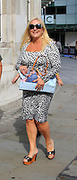 Vanessa Feltz, Celebrity sightings in London, 03 October 2014, Photo by Mike Webster