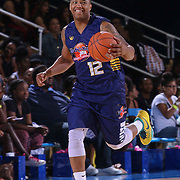 Jawan Carter (12) dribbles that ball down court during The 2015 Duffy's Hope Celebrity Basketball Game Saturday, August 01, 2015, at The Bob Carpenter Sports Convocation Center, in Newark, DEL.    <br /> <br /> Proceeds will benefit The Non-Profit Organization Duffy's Hope Youth Programming.