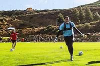 ESTEPONA - 05-01-2016, AZ in Spanje 5 januari, AZ speler Gino Coutinho
