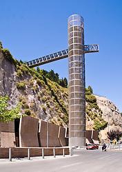 Ascensor Panorámico, Acondicionamiento de Accesos y Refugios y Edificio de Usos Múltiples. Temperaturas Extremas & Lejarraga Architects