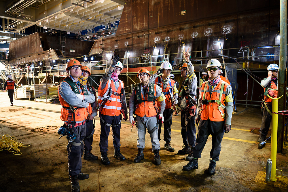 Aasta Hansteen topside load out. Ben Weller/AP/Statoil Aasta Hansteen topside load out at Hyundai Heavy Industries, Ulsan, South Korea. Ben Weller/AP/Statoil