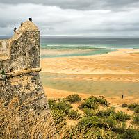 The Atlantic Ocean from Cacela Velha, Algarve, Portugal