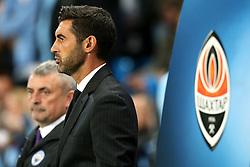 Shakhtar Donetsk head coach Paulo Fonseca - Mandatory by-line: Matt McNulty/JMP - 26/09/2017 - FOOTBALL - Etihad Stadium - Manchester, England - Manchester City v Shakhtar Donetsk - UEFA Champions League Group stage - Group F
