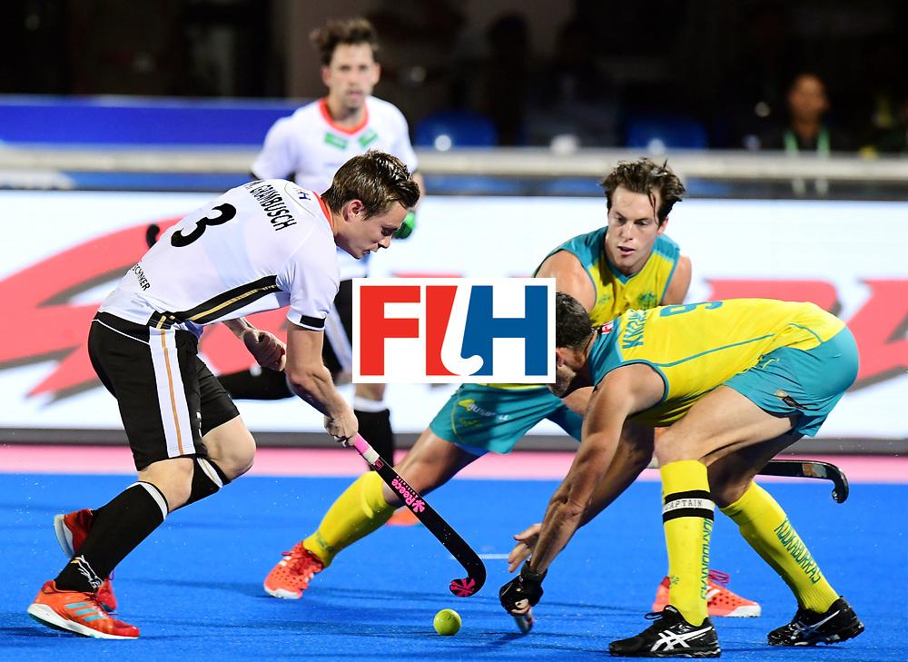 Odisha Men's Hockey World League Final Bhubaneswar 2017<br /> Match id:20<br /> Australia v Germany<br /> Foto: Mats Grambusch (Ger) <br /> COPYRIGHT WORLDSPORTPICS FRANK UIJLENBROEK