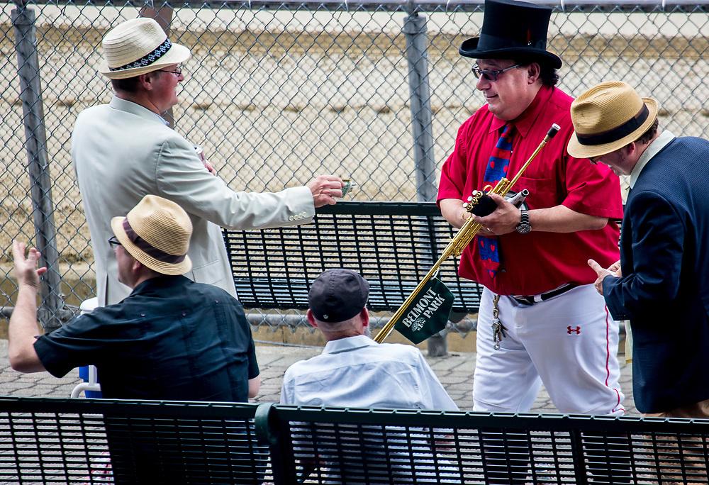 """Sam the Buglar"" at Belmont Park"