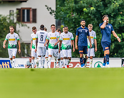 17.07.2019, Kufstein Arena, Kufstein, AUT, Testspiel, Borussia Dortmund vs Istanbul Basaksehir FC, im Bild v.l. Aurélien Chedjou (Istanbul Basaksehir FK), Patrick Herrmann (Borussia Mönchengladbach) // during a test match for the upcoming Season between Borussia Dortmund and Istanbul Basaksehir FK at the  Kufstein Arena in Kufstein, Austria on 2019/07/17. EXPA Pictures © 2019, PhotoCredit: EXPA/ Stefan Adelsberger