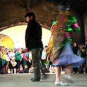 """""""Mua Khen"""" is a traditional man dance of hill tribe in Dong Van, Ha Giang"""