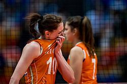 19-10-2018 JPN: Semi Final World Championship Volleyball Women day 18, Yokohama<br /> Serbia - Netherlands / Lonneke Sloetjes #10 of Netherlands