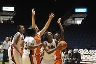 "Ole Miss vs. Sam Houston State in women's college basketball action at the C.M. ""Tad"" Smith Coliseum in Oxford, Miss. on Saturday, November 13, 2010."