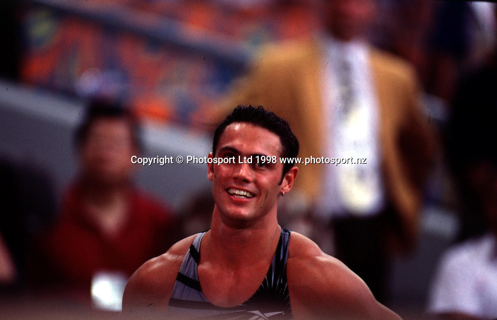 Chris Donaldson, Commonwealth Games, 1998. NZ Mens Athetics. PHOTOSPORT