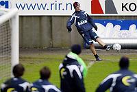 Fotball, 20. mars 2007 , Molde ,  Morten Gamst Pedersen , Norge slår corner