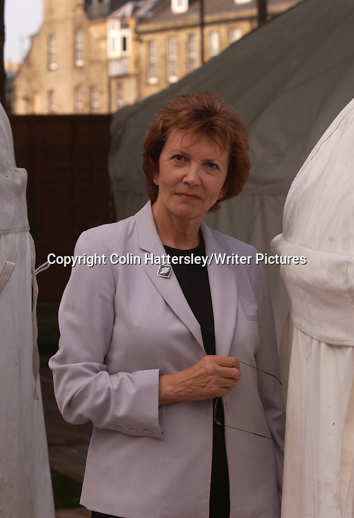 Joan Bakewell, Author and Broadcaster <br /> <br /> copyright Colin Hattersley/Writer Pictures<br /> contact +44 (0)20 822 41564 <br /> info@writerpictures.com <br /> www.writerpictures.com