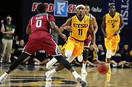November 22, 2017 - Johnson City, Tennessee - Freedom Hall: ETSU guard Devontavius Payne (11)<br /> <br /> Image Credit: Dakota Hamilton/ETSU