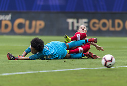 October 14, 2018 - Frisco, TX, United States - Frisco, TX - October 14, 2018:  Canada defeated Panama 7-0 during the semifinals of the 2018 CONCACAF Women's Championship. (Credit Image: © Brad Smith/ISIPhotos via ZUMA Wire)