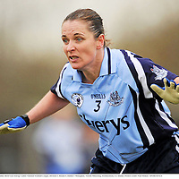 13 March 2010; Noelle Comyn, Dublin. Bord Gais Energy Ladies National Football League, Division 1, Round 5, Dublin v Monaghan, Naomh Mhearnog, Portmarnock, Co. Dublin. Picture credit: Paul Mohan / SPORTSFILE