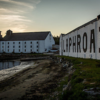 Laphroaig Distillery at Port Ellen, Isle of Islay, Scotland, July 17, 2015. Gary He/DRAMBOX MEDIA LIBRARY